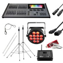 Wirelessly Controlled LED Lighting Kit
